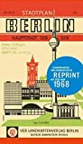 Stadtplan Berlin Hauptstadt der DDR: Reprint von 1968