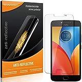 SWIDO Lot de 2 films de protection d'écran pour Motorola Moto E4 Plus - Anti-reflet - Mat - Haute...
