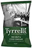 Tyrell's Tyrells Salt And Cider Vinegar Chips 150 G (Pack Of 12)