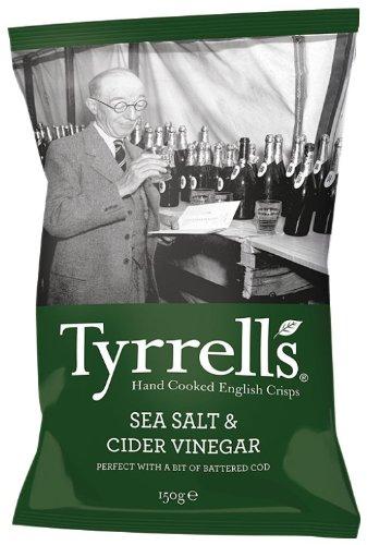 Tyrrell's Cider Vinegar und Sea Salt 150 g, 12er Pack (12 x 150 g)