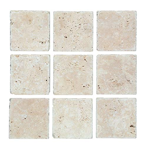 Fliese Travertin Naturstein beige Fliese Chiaro Antique Travertin für BODEN WAND BAD WC DUSCHE KÜCHE FLIESENSPIEGEL THEKENVERKLEIDUNG BADEWANNENVERKLEIDUNG