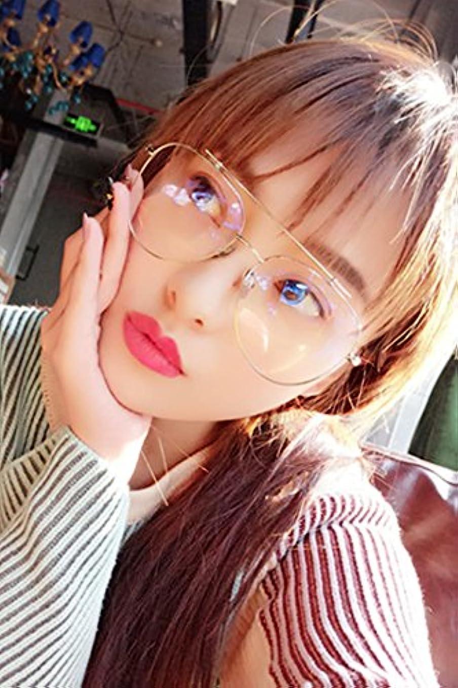 冊子クリップようこそGeneric Net新しい韓国語モデルメタルフレームwithレッドレトロPlainミラーMan Boy andレディースガールズLadyカエルミラーメガネフレーム装飾フレーム