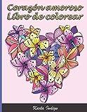 Libro de colorear Corazón amoroso: Un libro de colorear para adultos - 50 dibujos