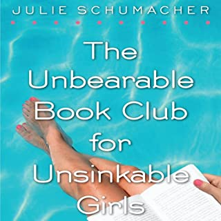 The Unbearable Book Club for Unsinkable Girls                   By:                                                                                                                                 Julie Schumacher                               Narrated by:                                                                                                                                 Jessica Almasy                      Length: 5 hrs and 25 mins     5 ratings     Overall 3.8