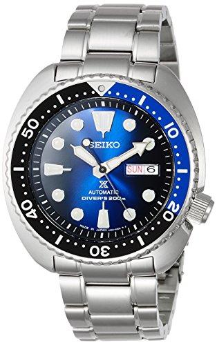 [セイコーウォッチ] 腕時計 プロスペックス メカニカル DIVER SCUBA ブルーグラデーション文字盤 SBDY013 メンズ シルバー