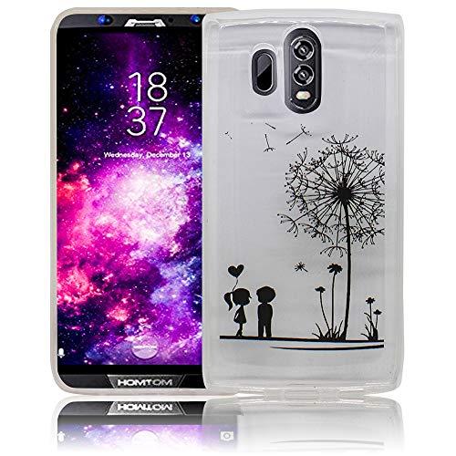 thematys HomTom HT70 pissenlit Custodia del Telefono Cellulare del Silicone - Antiurto e Leggera Polvere - Custodia dello Smartphone