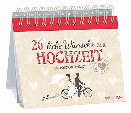 26 liebe Wünsche zur Hochzeit