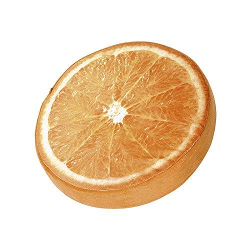 Doppler Sitzkissen Orange rund, Ø ca. 38 cm