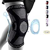 NEENCA Knee Brace for Men,Knee Compression Sleeve Support with Patella Gel Pads & Side...