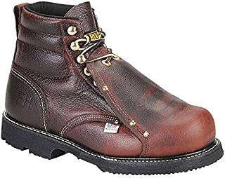 Carolina Shoe Work Boots, Size 6-1/2, Toe Type: Steel, PR - 508