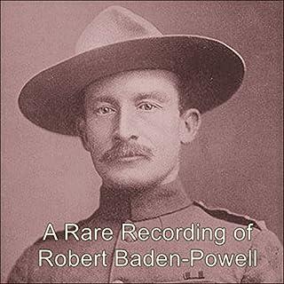 A Rare Recording of Robert Baden-Powell audiobook cover art