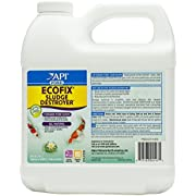 API POND ECOFIX SLUDGE DESTROYER Pond Cleaner And Sludge Remover With Natural Bacteria 64-Ounce Bottle, White (147D)