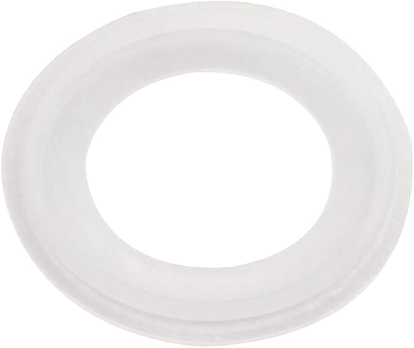 DERNORD Silicone Gasket Tri-Clover (Tri-clamp) O-Ring - 1.5 Inch (Pack of 1)