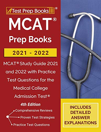 MCAT Prep Books 2021-2022: MCAT Study Guide 2021 and 2022 with Practice...