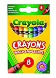 Crayola 114574 Coloured Crayons ( 8 Pack )