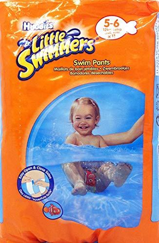 Huggies Little Swimmers Schwimmwindeln wasserdicht Größe 5 / 11-18kg, 24-40lb (11er Packung)