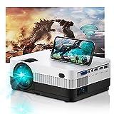Projector WiFi Full HD, Home Cinema Home Cinema 6500 Lumens, Mini proiettore Support 1080P compatibile con USB/HDMI/SD/AV/TV Stick/VGA [2021 Latest]