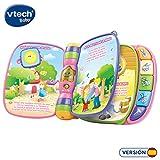 VTech Baby - Primeras canciones, Libro musical infantil con canciones populares para niños, botones para aprender instrumentos y sus sonidos (80-166757)