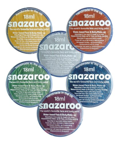 Generique - Maquillage métallisé Snazaroo 18 ML