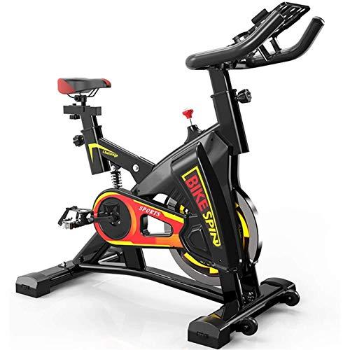 MGIZLJJ Entrenamiento de Bicicletas, Ajustable silenciosa Bicicleta estática, Sistema de Estabilización Triangular, no es fácil de Shake, for la Oficina, Gimnasio