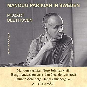 Manoug Parikian in Sweden