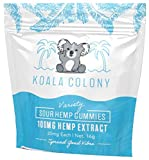 Koala Colony Hemp Gummies - 100mg Natural Hemp Extract - Sour Hemp-Infused Gummies for Stress, Anxiety, and Pain Relief