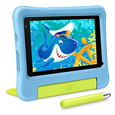VANKYO MatrixPad S7 Kids Tablet 7 inch, Android 9.0 Pie, 32GB ROM, 2GB RAM, COPPA Certified KIDOZ& Google Play Pre-Installed with Kid-Proof Case, Wi-Fi, Eye Health Mode, Blue