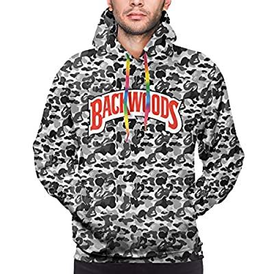 Backwoods Unisex Novelty Hoodies Men's Hooded Sweatshirt Casual Graphics Pullover Sweatshirts