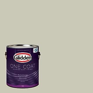 Glidden Exterior Paint + Primer: Sage/French Gray Linen, One Coat, Satin, 1-Gallon