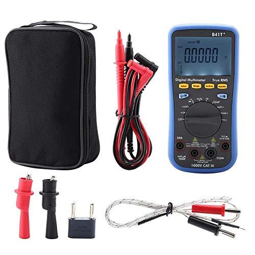 HUAHUA Multímetro Multímetro digital electrónico, Owon B41T 3 en 1 Datos Bluetooth Grabadora digital Multímetros, Termómetro multifuncional dispositivo