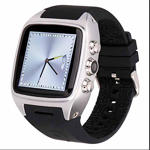GPS Wifi Smart Watch Uhr Mit Herzfrequenz Monitor Und Pulsmesser Stoppuhr Schlafanalyse Unterstützungs TF SIM Karte Browser Wecker Für Android