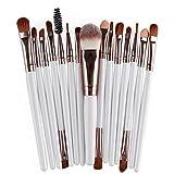 XUCZHAI Brocha Maquillaje Cosmético Maquillaje Cepillo Fundación Eyeshadow Labios Maquillaje Pinceles Conjunto Kit Set Brochas Maquillaje (Handle Color : 2)