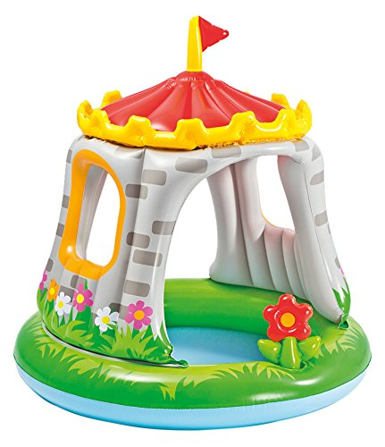 Intex Royal Castle Baby Pool for Ages 1-3, 48 x 48 by Intex