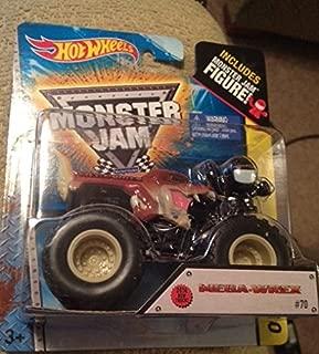 Monster Jam Mega Wrex 2014 new truck brown dinosaur includes monster jam figure