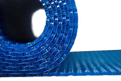 Teichabdeckung Isolierfolie Noppenfolie blau Winter Folie Anti EIS Pool Teich Isolierung 200cm breit Isolier-/ Noppenfolie 2 x 2m