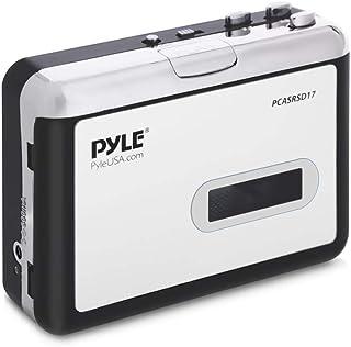 2-in-1 Cassette-to-MP3 Converter Player Recorder - Portable Battery Powered Tape Audio Digitizer, USB Walkman Cassette Pla...