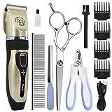 Zlogen - Leise Haustier-Haarschneidemaschine elektrische Haarschneidemaschine | Kabellose...