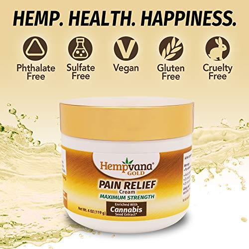 As Seen On TV Hempvana Gold Pain Cream