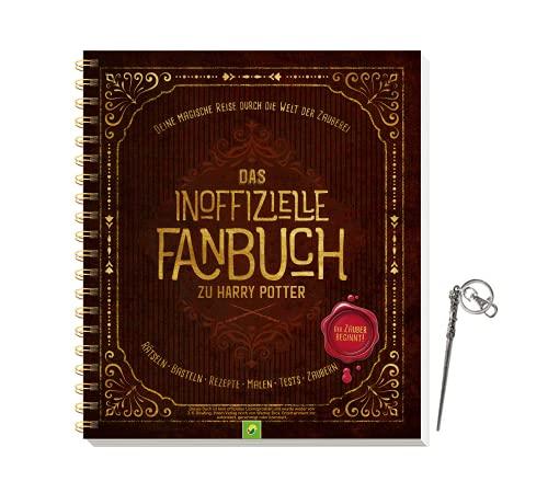 Buchspielbox El libro oficial de Harry Potter: un viaje mágico por el mundo de la magia + llavero, a partir de 10 años.