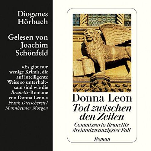 Tod zwischen den Zeilen (Guido Brunetti 23) cover art