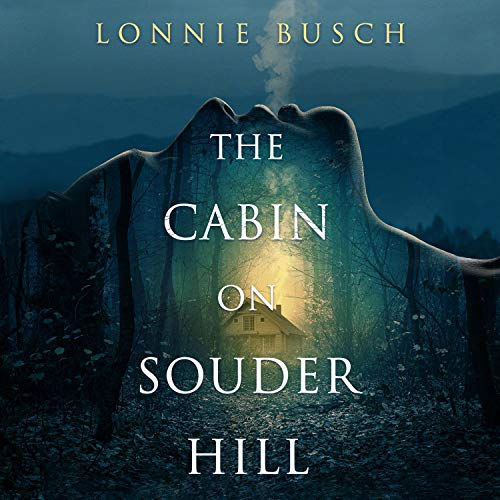 Diseño de la portada del título The Cabin on Souder Hill