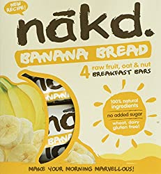 ALL NATURAL – These healthy snack bars are made with 100% natural ingredients, just fruit, oats and nuts smooshed together! GLUTEN FREE – This delicious Banana Bread bar is made with gluten free oats, fruit and nuts. HEALTHY SNACK – One of your five ...