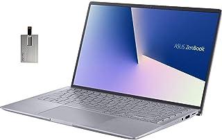 "2020 ASUS Zenbook 14"" FHD Ultra-Light&Thin Laptop Computer, AMD 4th Gen Ryzen 5-4500U, 8GB RAM, 256GB PCIe SSD, Backlit Ke..."