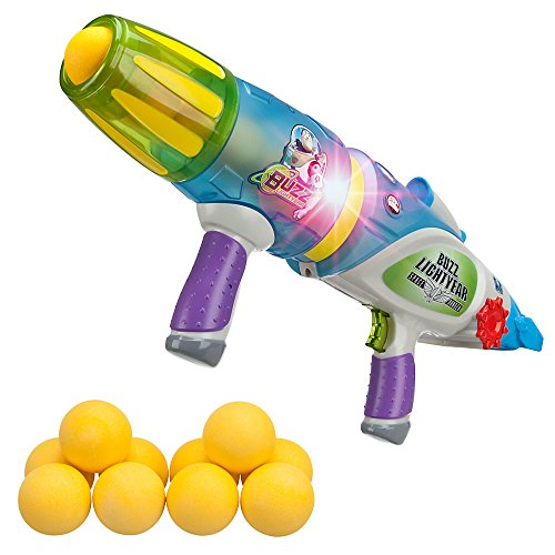 Disney Pixar Buzz Lightyear Glow-in-The-Dark Blaster