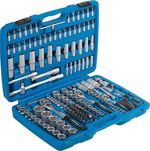SW-Stahl 07630L Steckschlüsslsatz I 171-teilig I 1/4 3/8 1/2 Zoll I Werkzeugkoffer Industriequalität