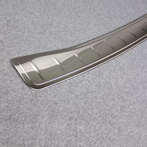 Fit For 2014-2017 Infiniti QX50 Stainless Rear Bumper Protector Cover Trim
