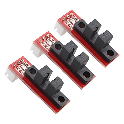 HALJIA 3PCS Optical Endstop Mechanical Switch Compatible with 3D Printer RAMPS 1.4