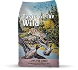 Taste of the Wild Grain Free High Protein Real Meat Recipe Lowland Creek Premium Dry Cat Food 5lb