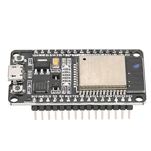 Changor Módulo WiFi de Baja Potencia, Interfaz de Tarjeta de Amplificador de Sensor Módulo de Desarrollo WiFi + Bluetooth de 50 * 28 mm con componentes de plástico y electrónicos para Iot