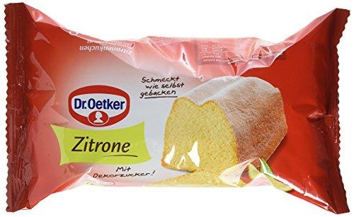 Dr. Oetker Fertigkuchen Zitronenkuchen, 4er Pack (4 x 350 g)
